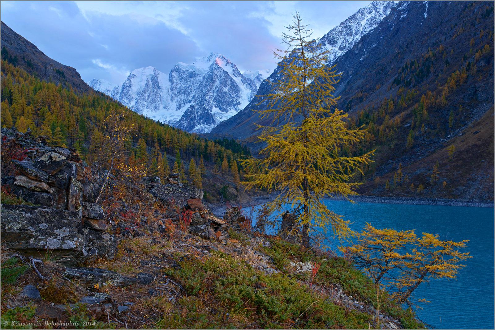 Фото осеннего горного алтая